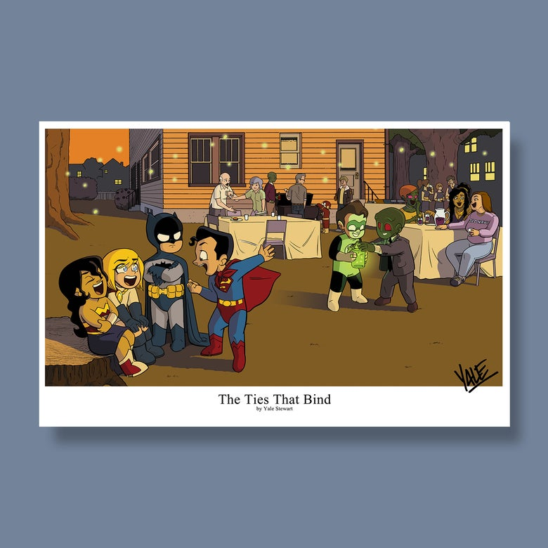 """Image of *NEW* The Ties That Bind - 11""""x17"""" Signed Print"""