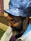 Jah Roots Stretch Hat Beak (Jeans Patch)