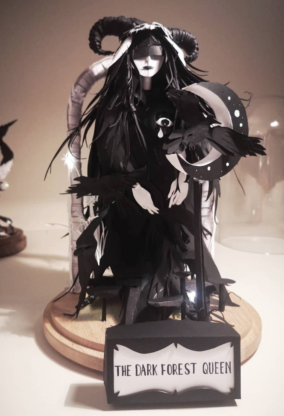 Image of THE  DARK FOREST QUEEN