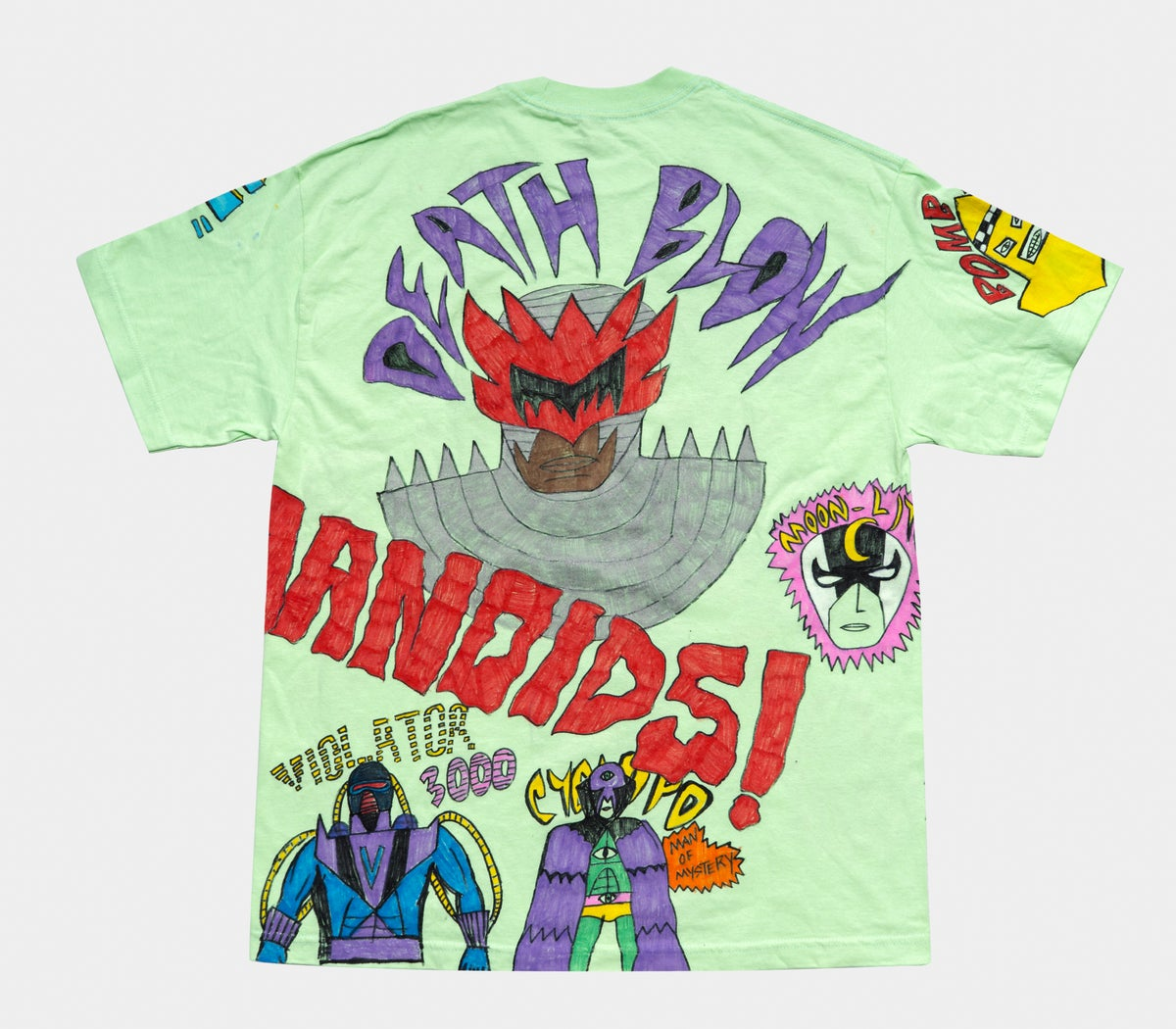 Image of 1/1 The Inhumanoids Tee Sz XL