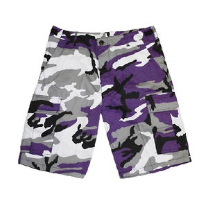 Image of Short purple camo