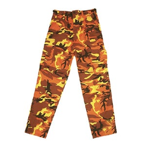Image of US Kampfhose BDU orange-camo