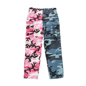 Image of US Kampfhose BDU navy-pink