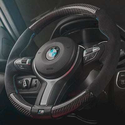 Image of BMW F-Series Alcantara Carbon Wheel
