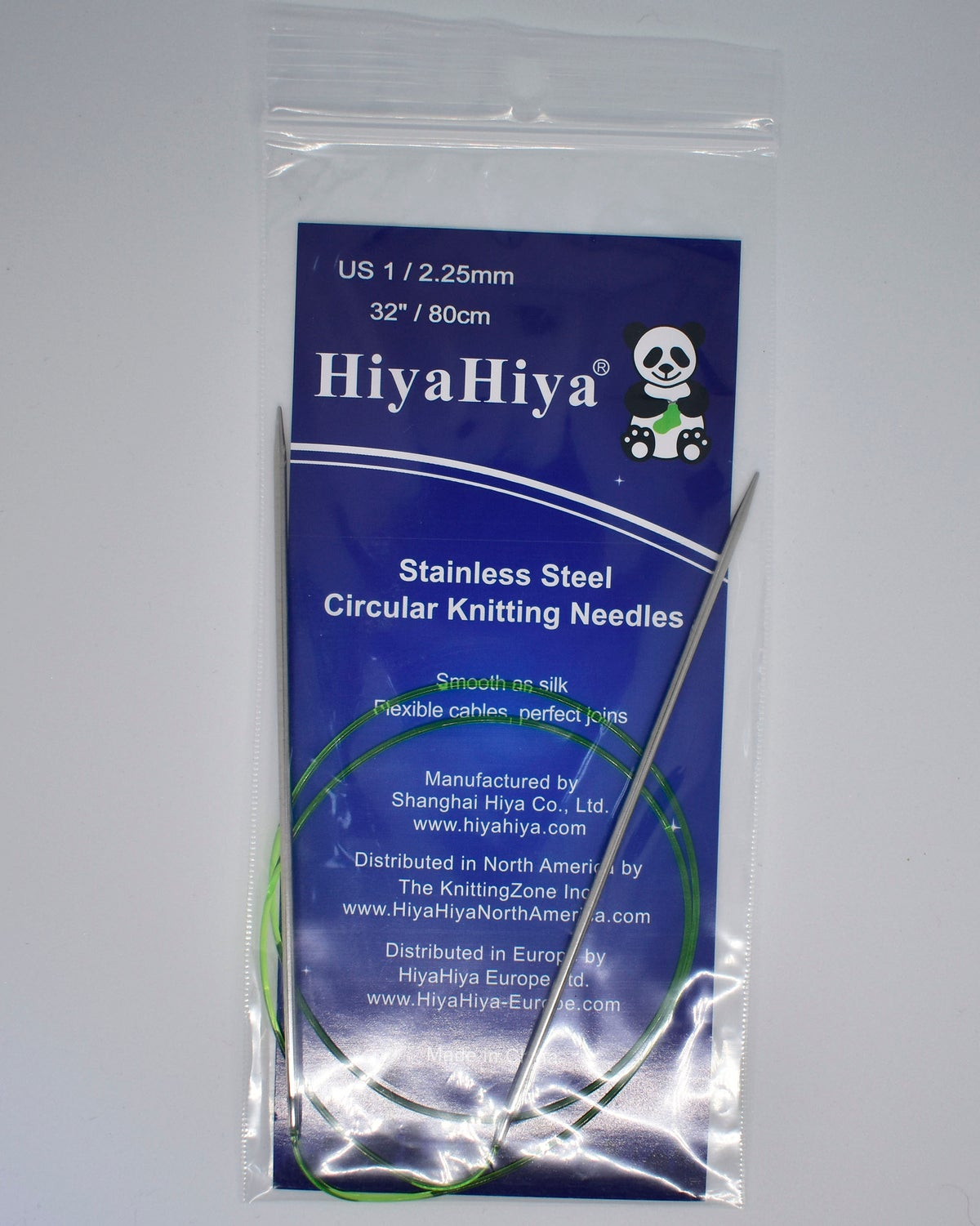 HiyaHiya Circular knitting needles - Steel