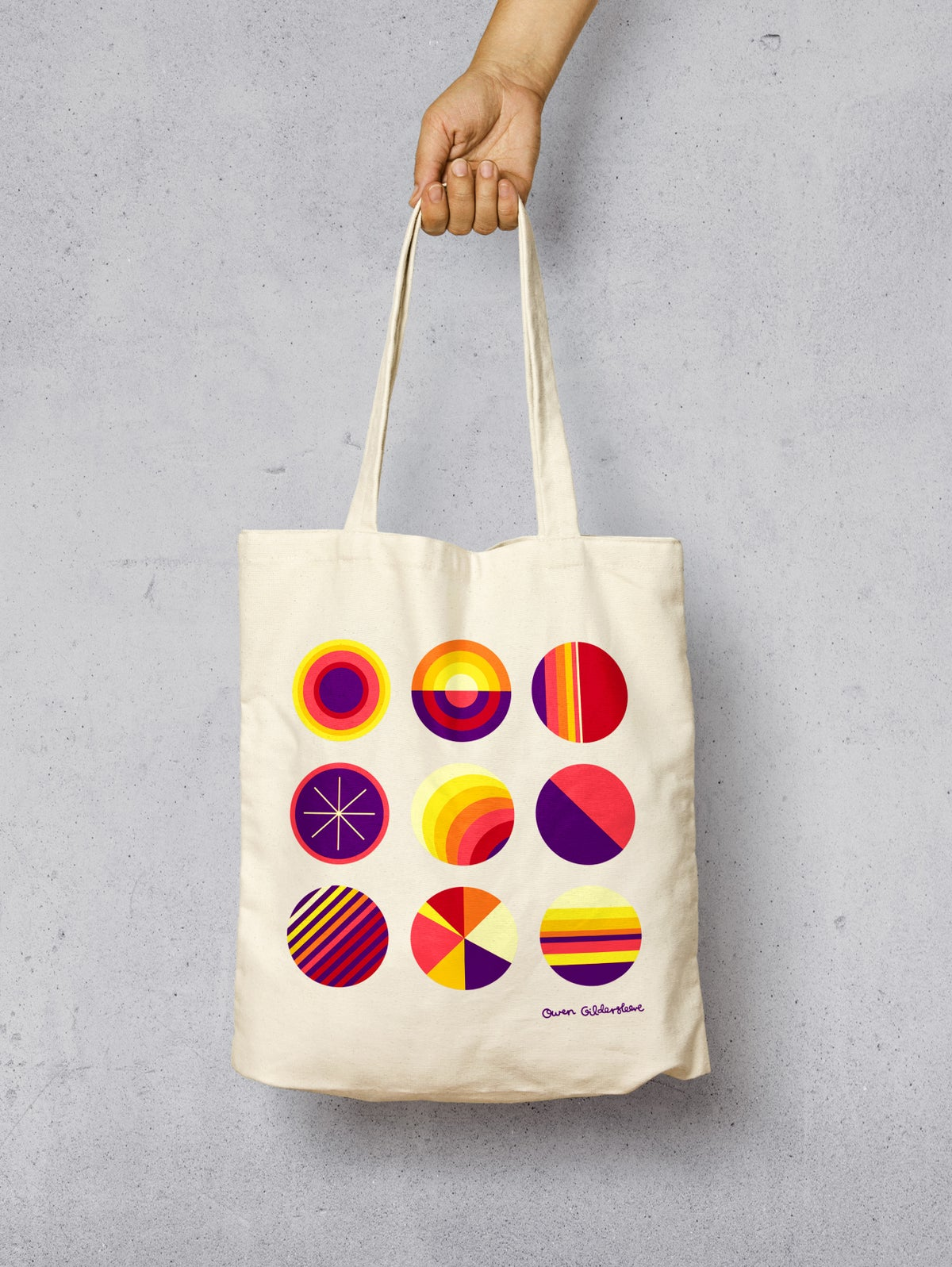 Image of SOL Limited Edition Screenprinted Organic Shopper Bag