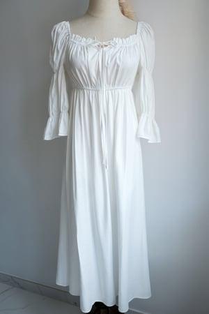 Image of SAMPLE SALE - Unreleased White Dress 001