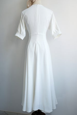 Image of SAMPLE SALE - Unreleased White Dress 012