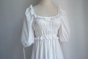 Image of SAMPLE SALE - Unreleased White Short Dress 009