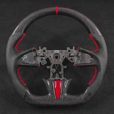 Image of Q50 Carbon Leather Steering Wheel