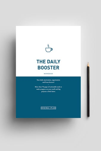 Image of The Daily Booster workbook