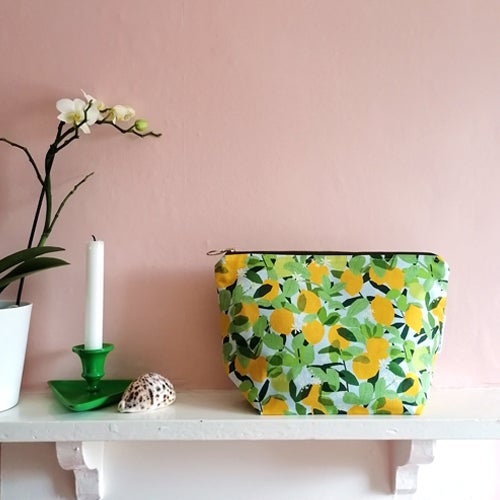 Sweet Lemons Wash Bag
