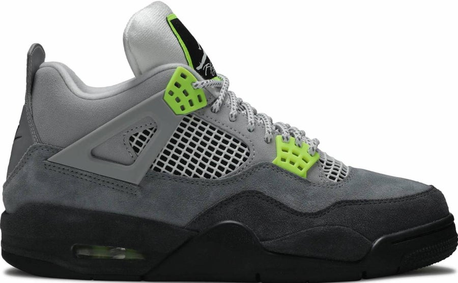 "Image of Nike Retro Air Jordan 4 ""Neon"" Sz 11.5"