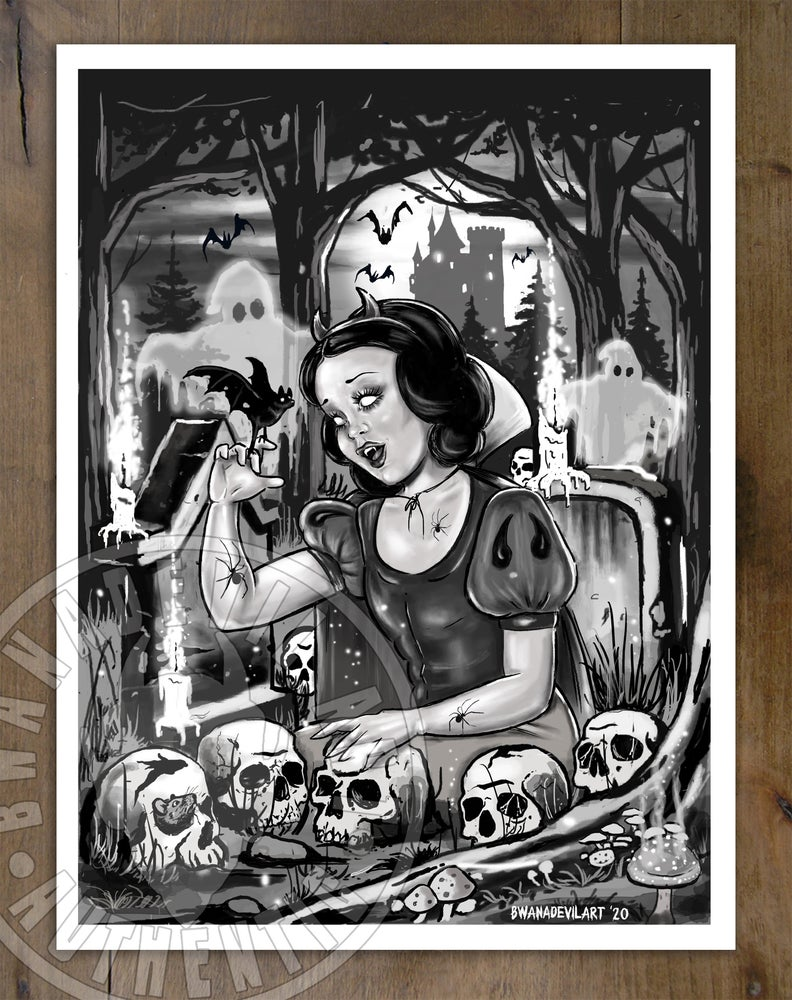 Image of Snow White and the Seven Dwarfs Art Print