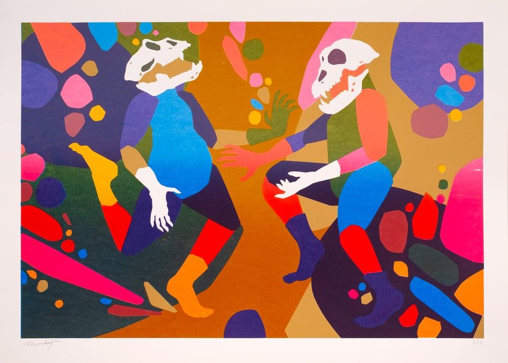 Image of Tanz auf dem Vulkan - 50 x 70 cm