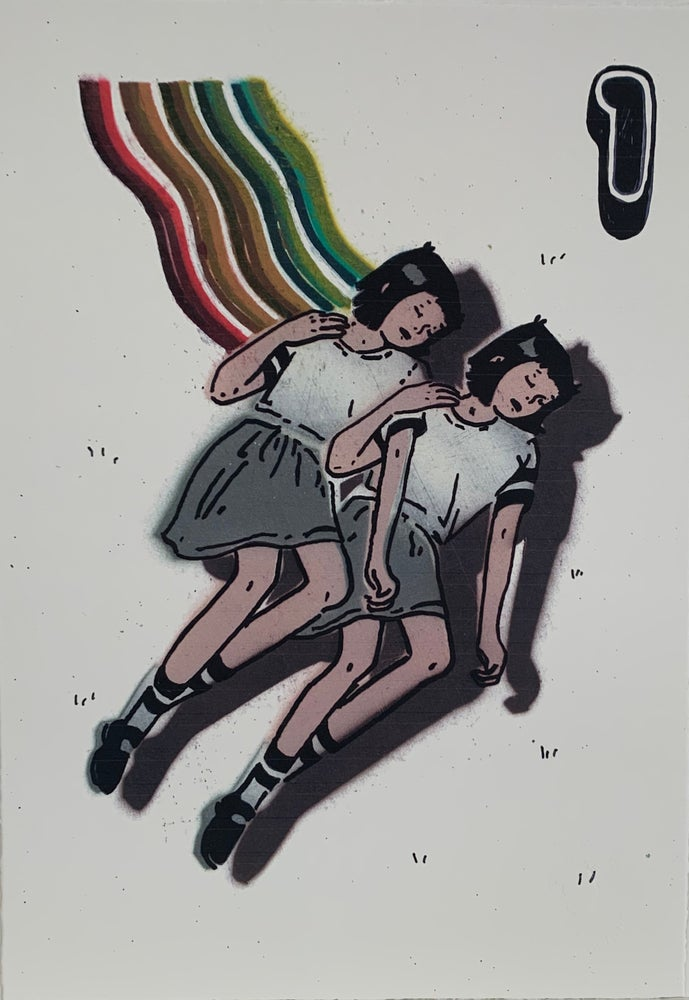 Image of #1 'Rainbow Sleepers' Print