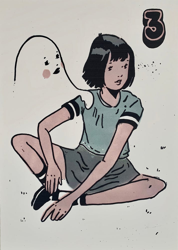 Image of #3 'A Girl and her Ghost' print