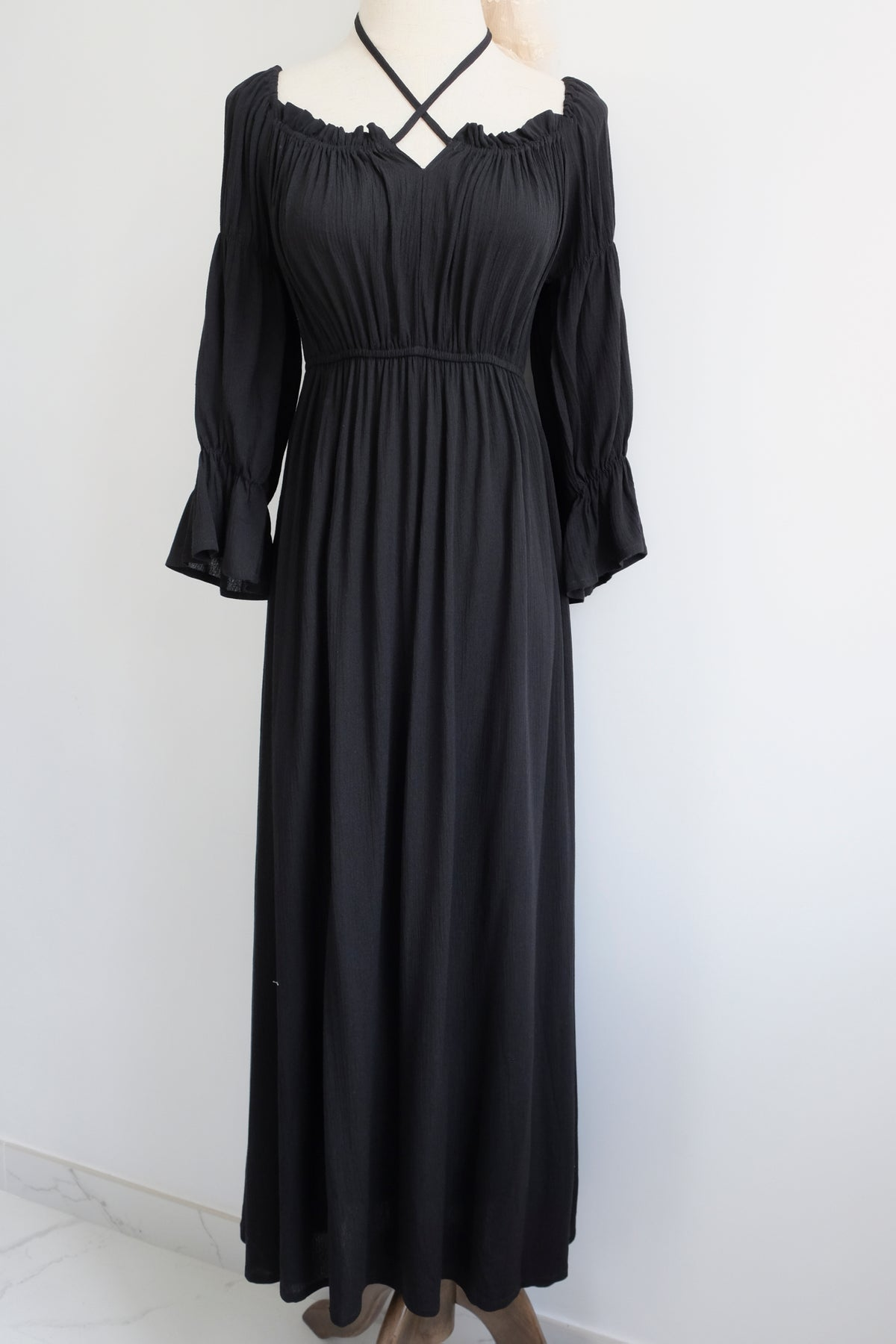 Image of SAMPLE SALE - Unreleased Black Dress 002