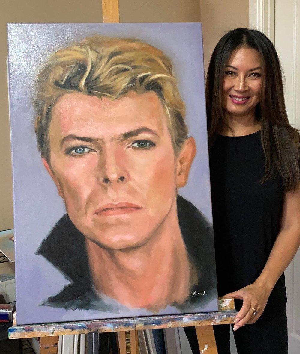 David Bowie (Original Oil Painting)