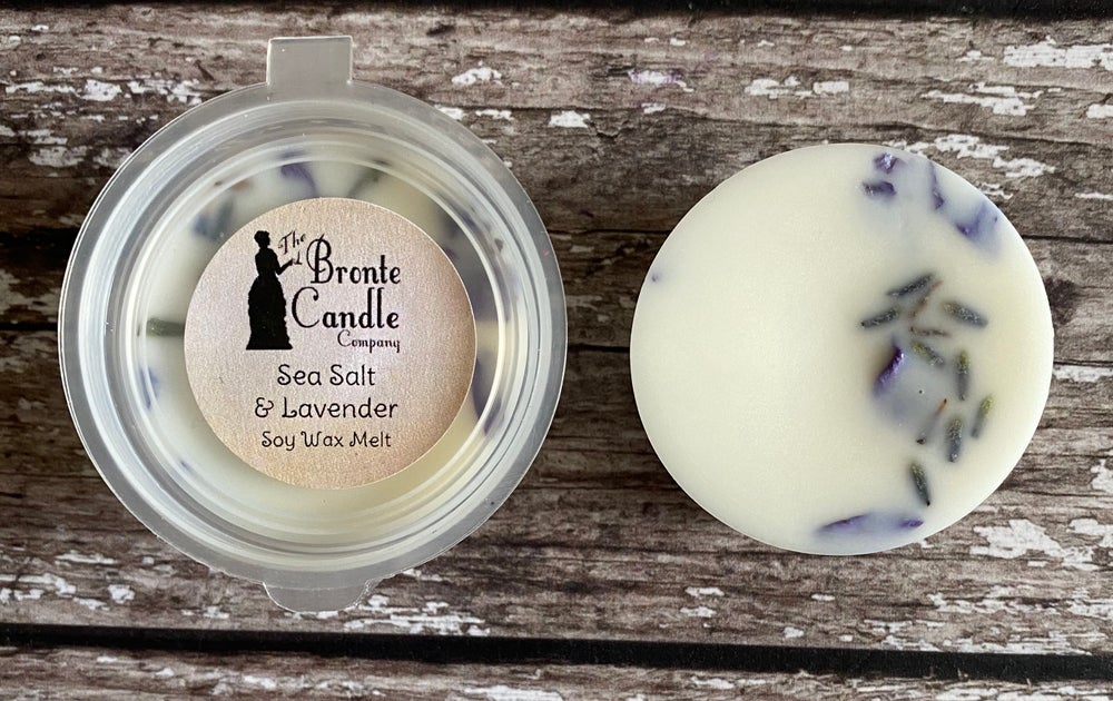 Image of Sea Salt & Lavender Mini Wax Melt Pot