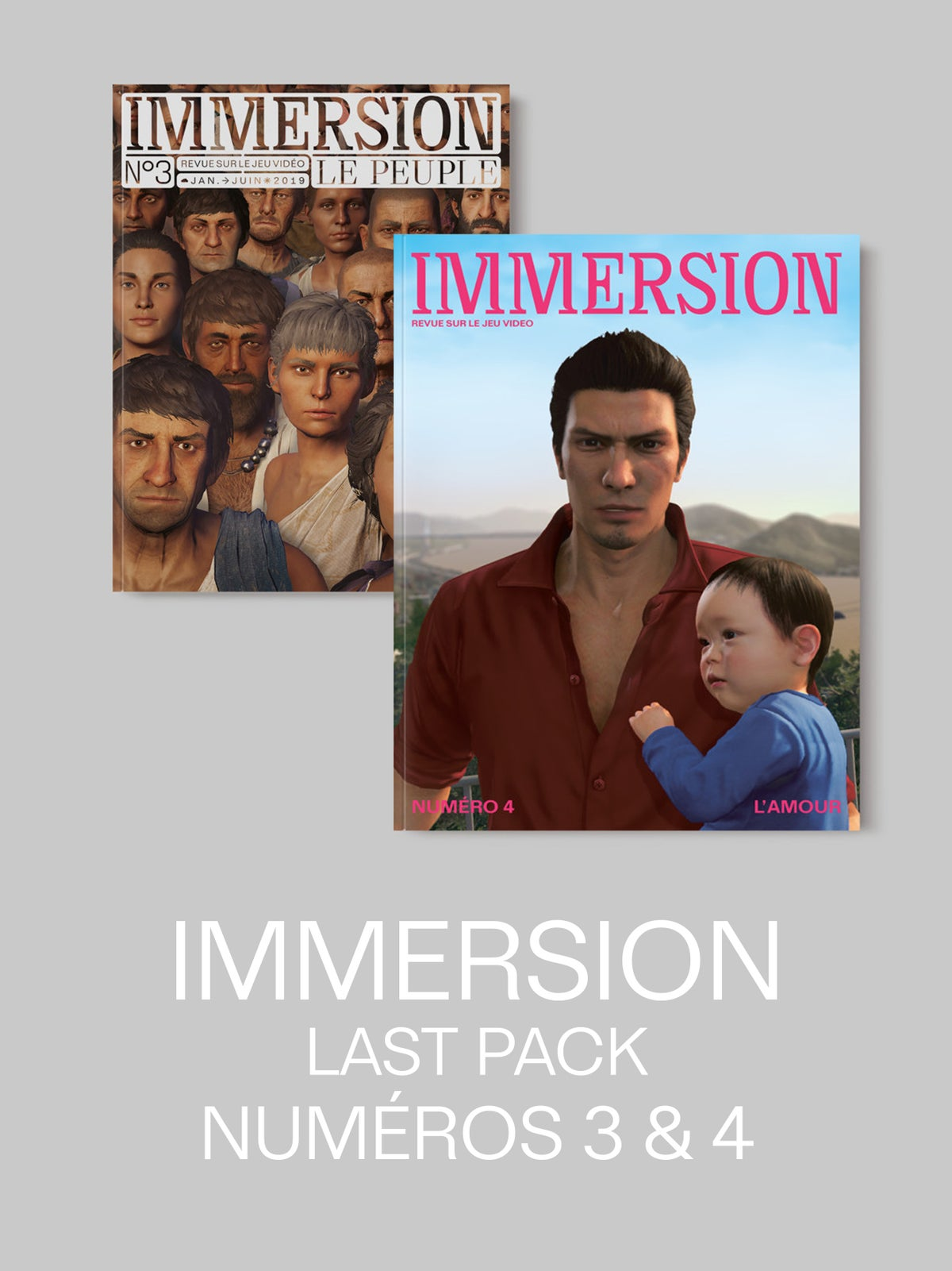 Image of IMMERSION LAST PACK — 2 numéros