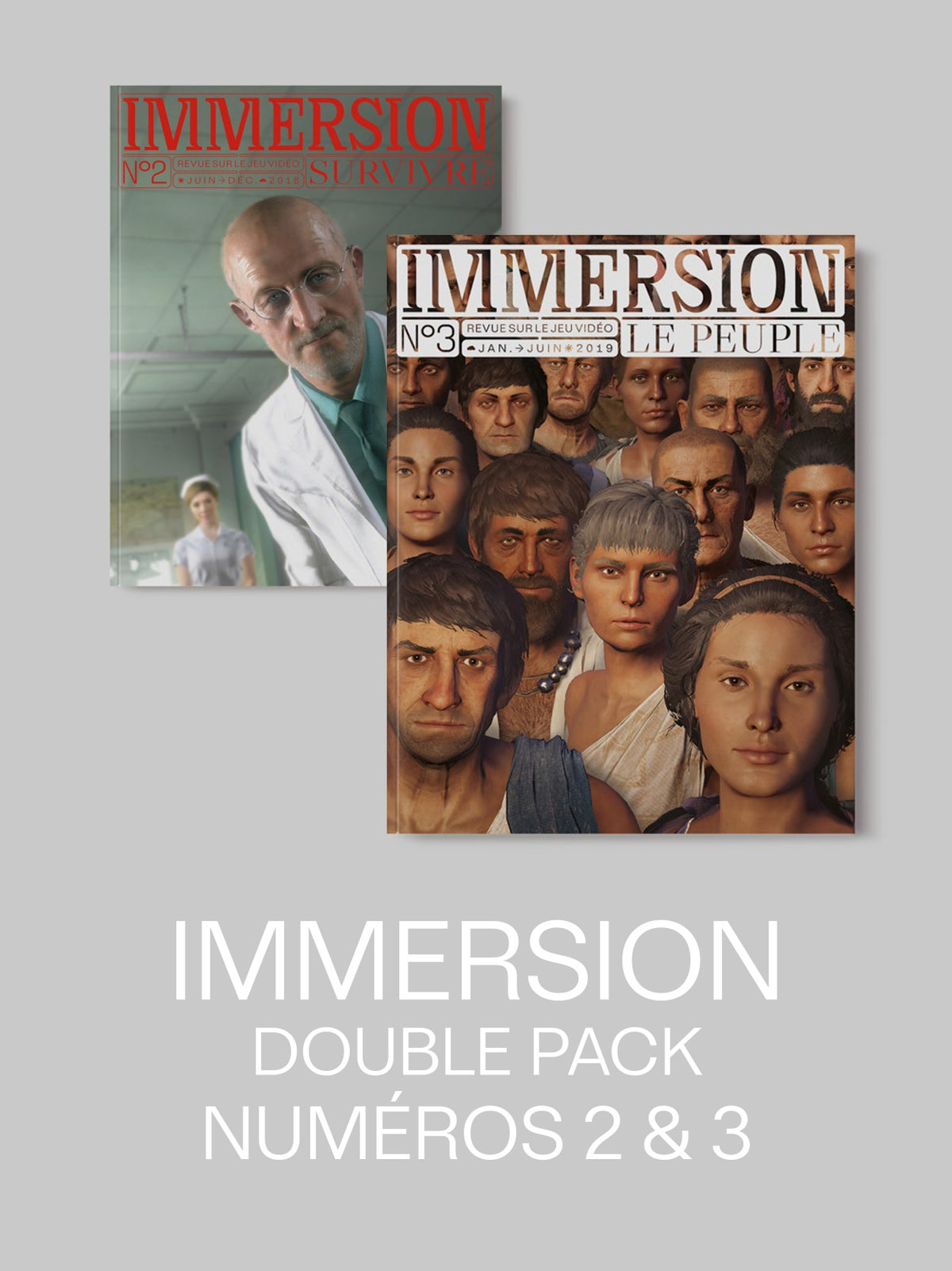 Image of IMMERSION DOUBLE PACK — 2 numéros