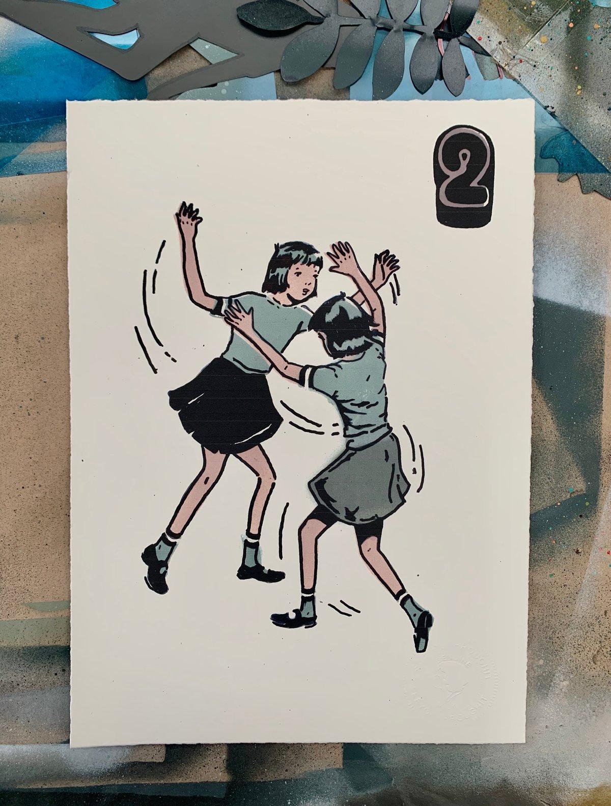 Image of #2  'Whirlwinding'   Print