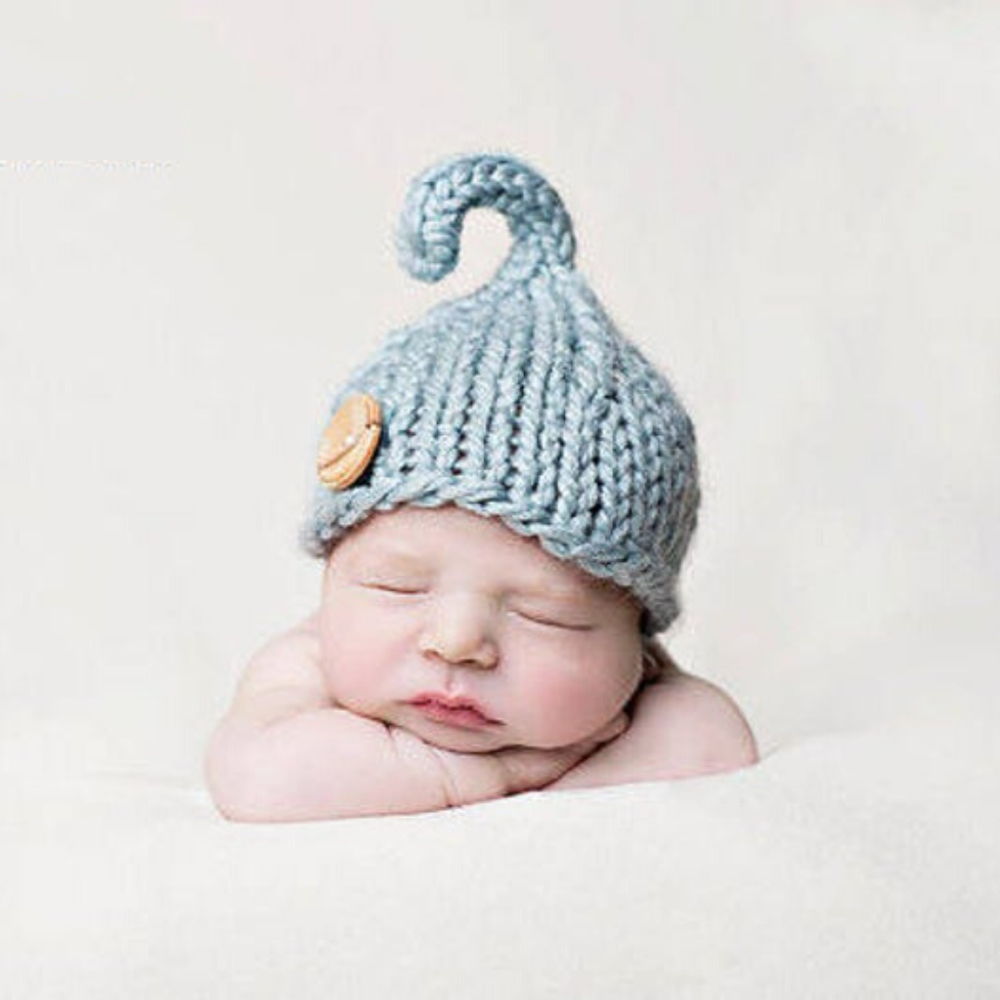 Image of Lil' Sprout Beanie Knitting Pattern PDF Download