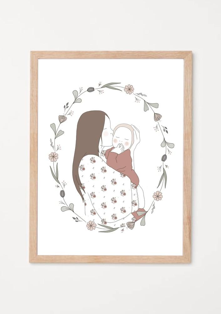 Image of Affichette Mon petit amour garçon