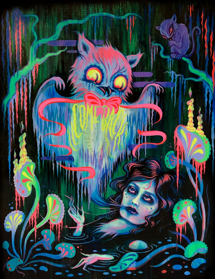 """Image of """"Your Mouth is Like a Ghost"""" Limited edition print"""