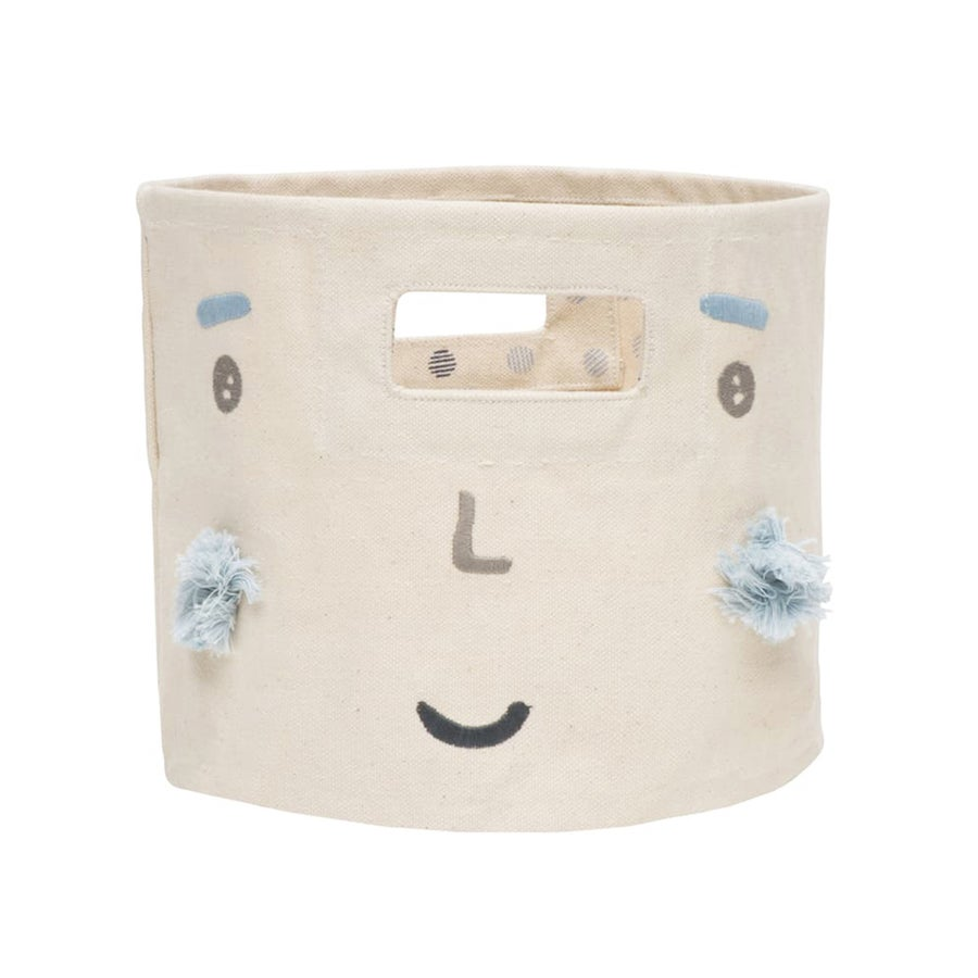 Image of Peek-A-Boo Mini Canvas Bin