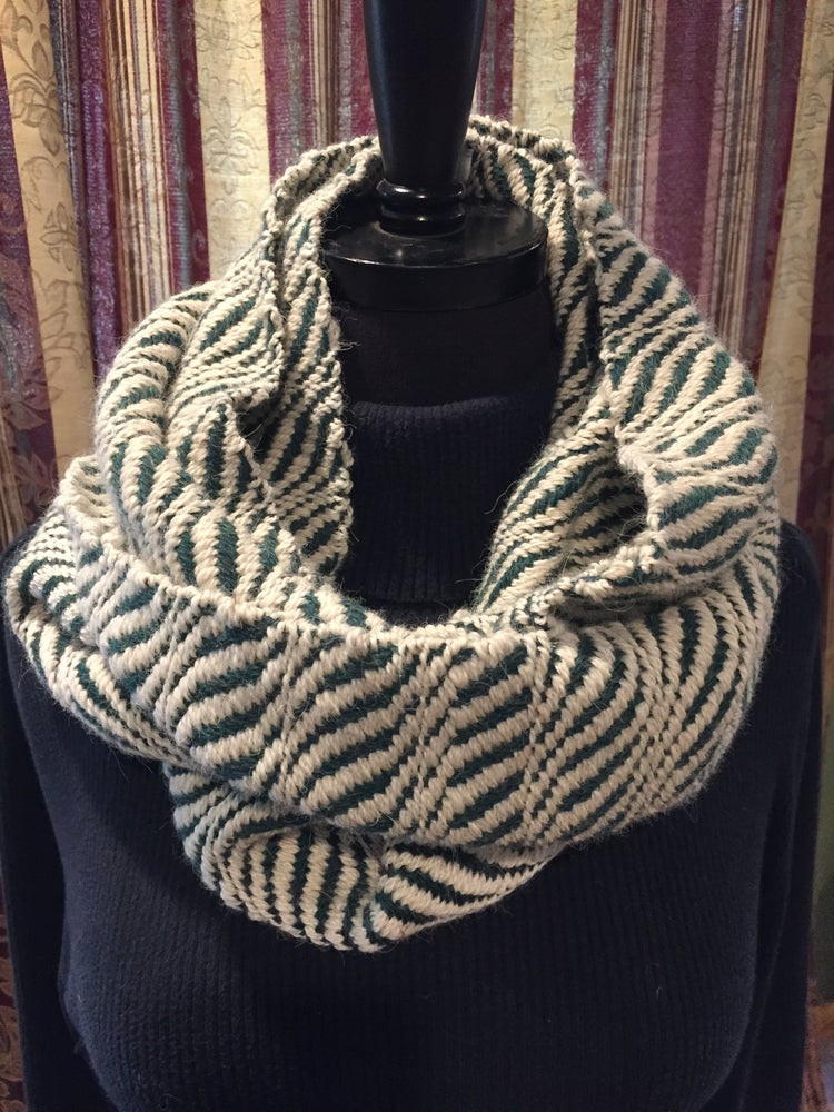 Image of Alpaca/Wool long cowl. (Item # 20134)