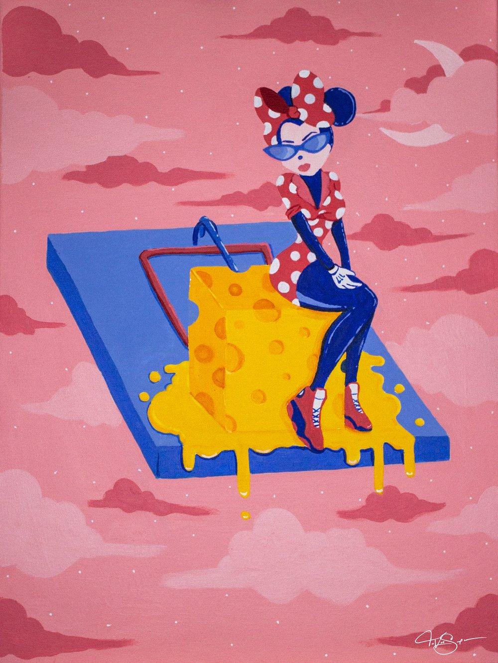 """Image of """"TRXP QUEEN"""" Poster print"""
