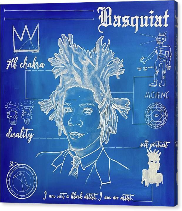 "Image of ""Basquiat"" Limited Edition Canvas Prints"