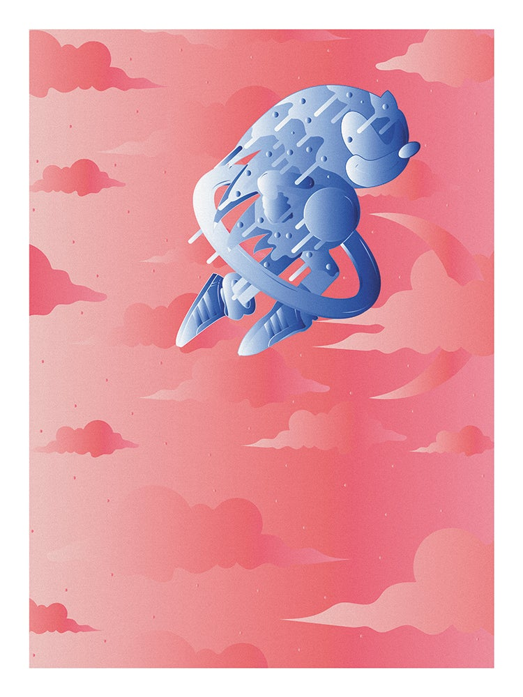 """Image of """"SONIC"""" SPECIAL EDITION POSTER PRINTS (COTTON CANDY)"""