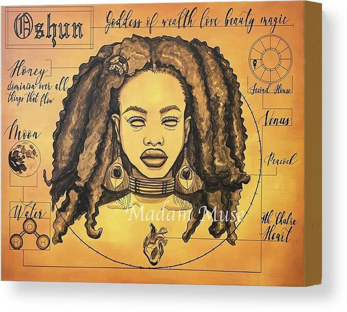 "Image of ""Oshun"" Limited Edition Canvas Prints"