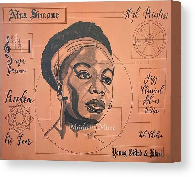 "Image of ""Nina Simone"" Limited Edition Canvas Prints"