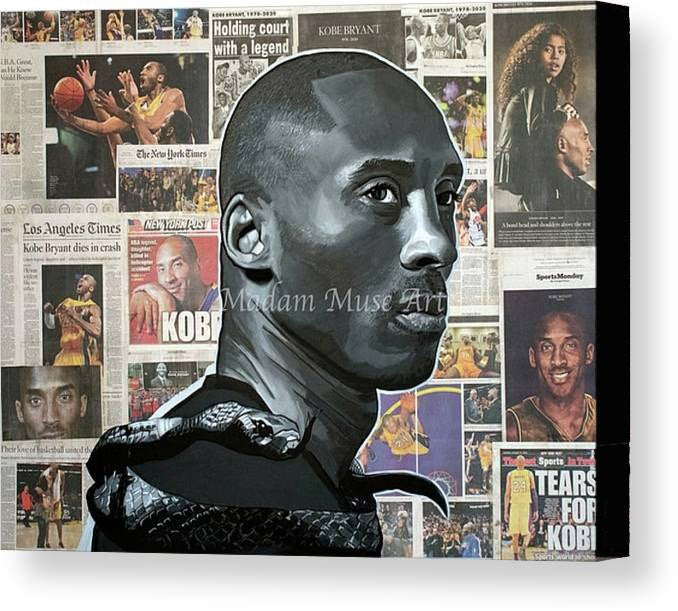 "Image of ""The Black Mamba"" Limited Edition Canvas Prints"