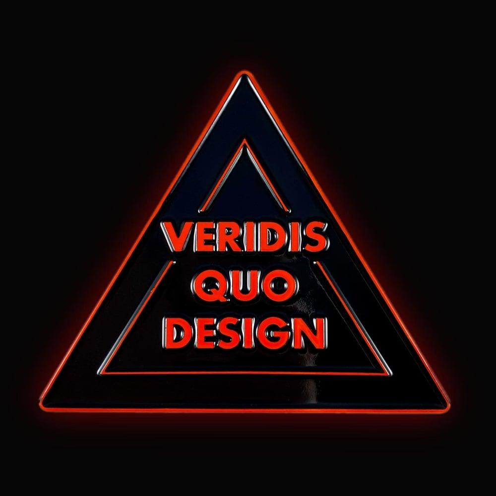 Image of VQD Logo Pin