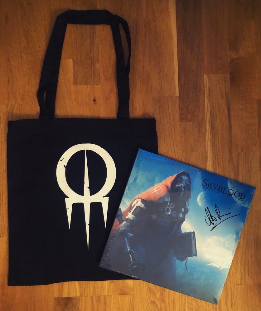 Image of Skyblood-signed vinyl + tote bag