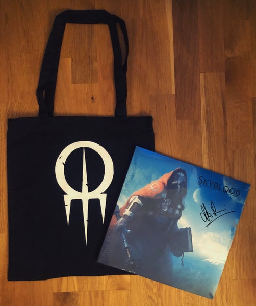 Image of Skyblood-signed vinyl + tote bag