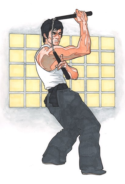 Image of Bruce Lee Art Print