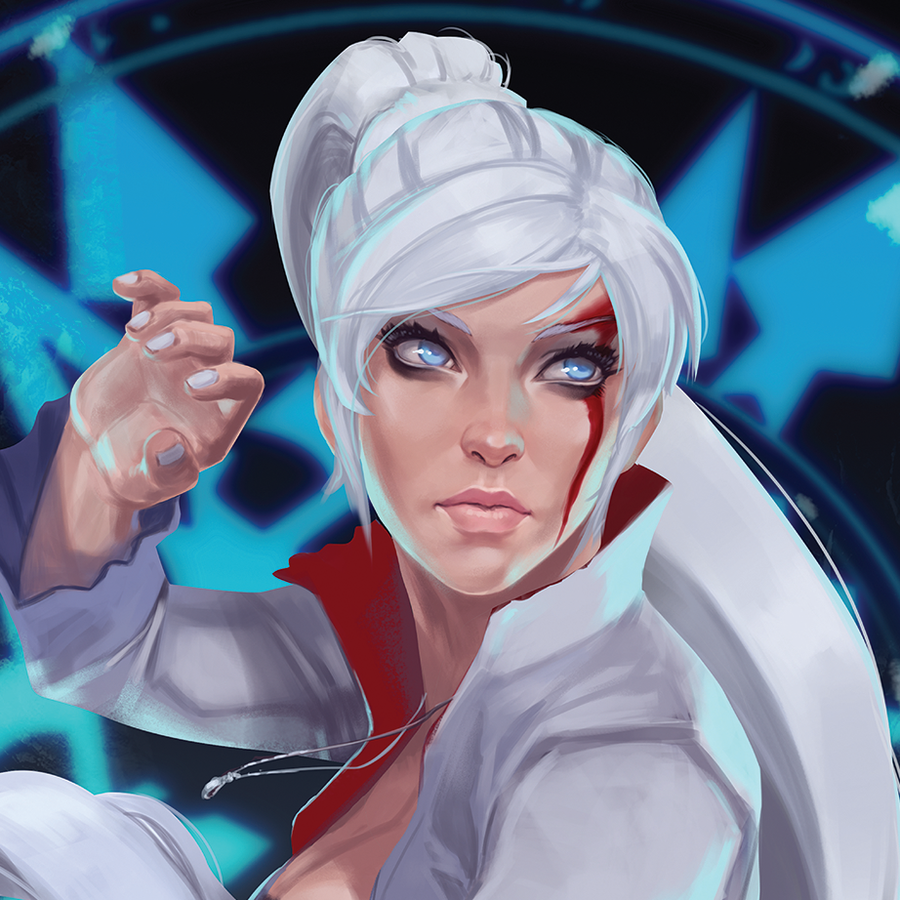 Image of Weiss Scnhee, RWBY Poster Prints