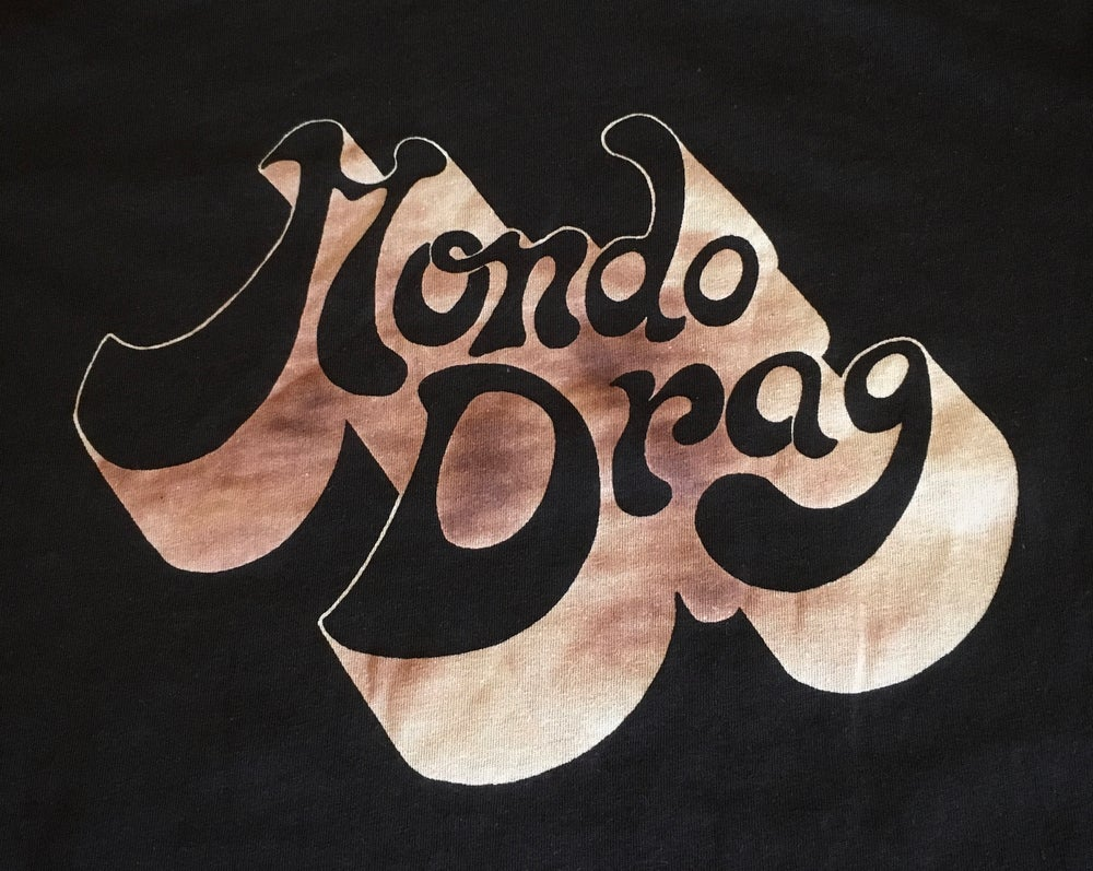Image of Burned Logo Tee