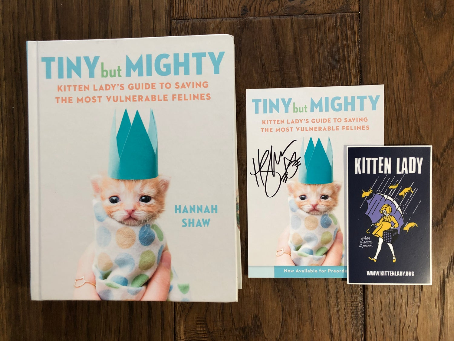 Image of SIGNED Tiny But Mighty Book Bundle