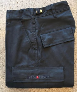 Image of Sky High Tactical Six Pocket Cargo Pants Black