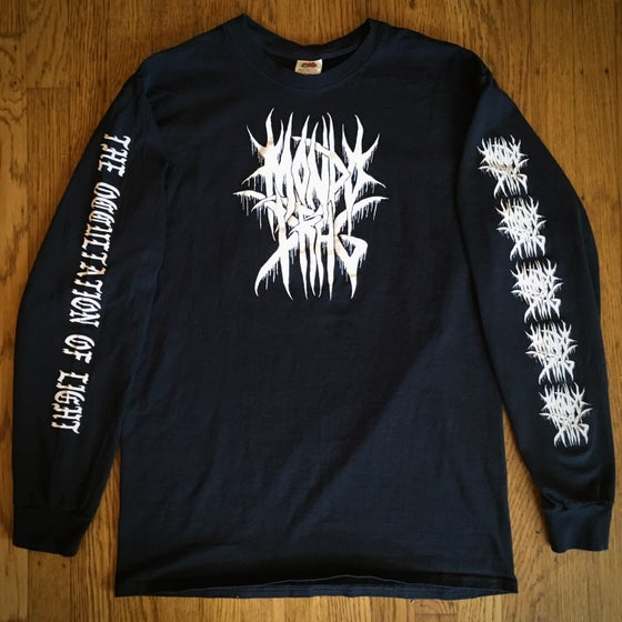 Image of Black Metal  Long Sleeve Tee