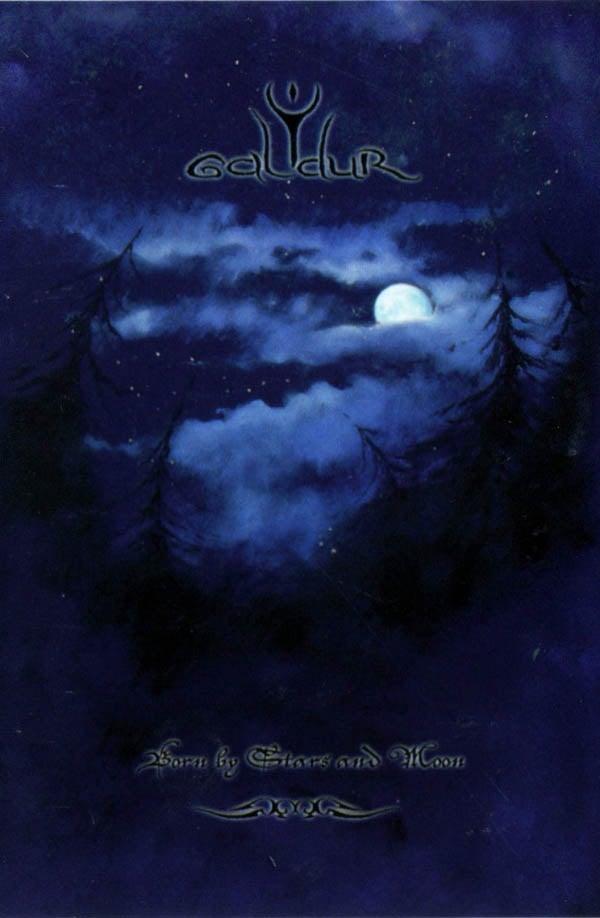 Galdur - Born By Stars And Moon TAPE