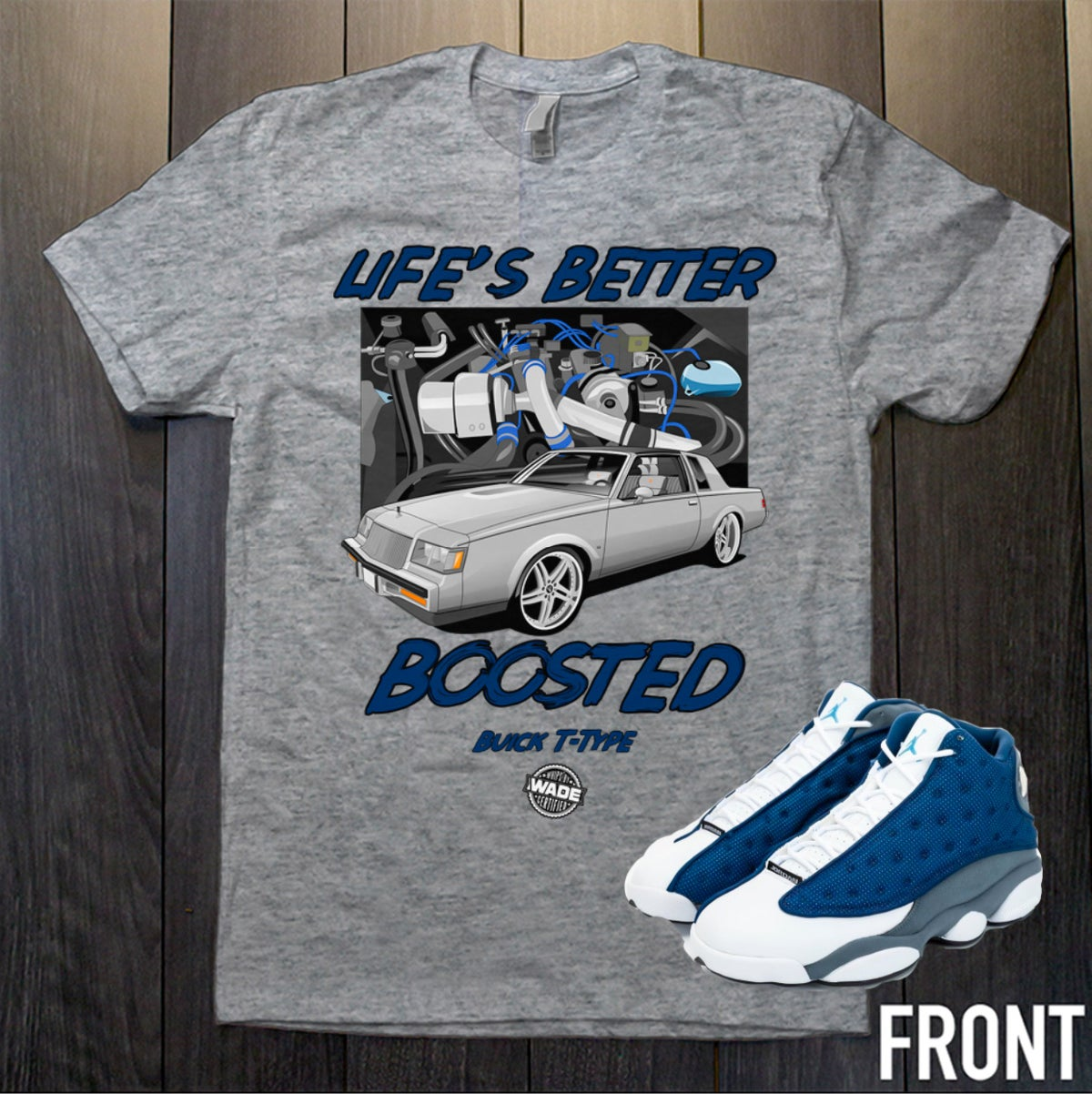 Image of Life's Better Boosted Tee * PRE-ORDER *