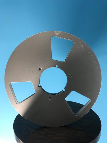 "Image of 1/4"" 10.5"" Aluminum Metal Reel USED"